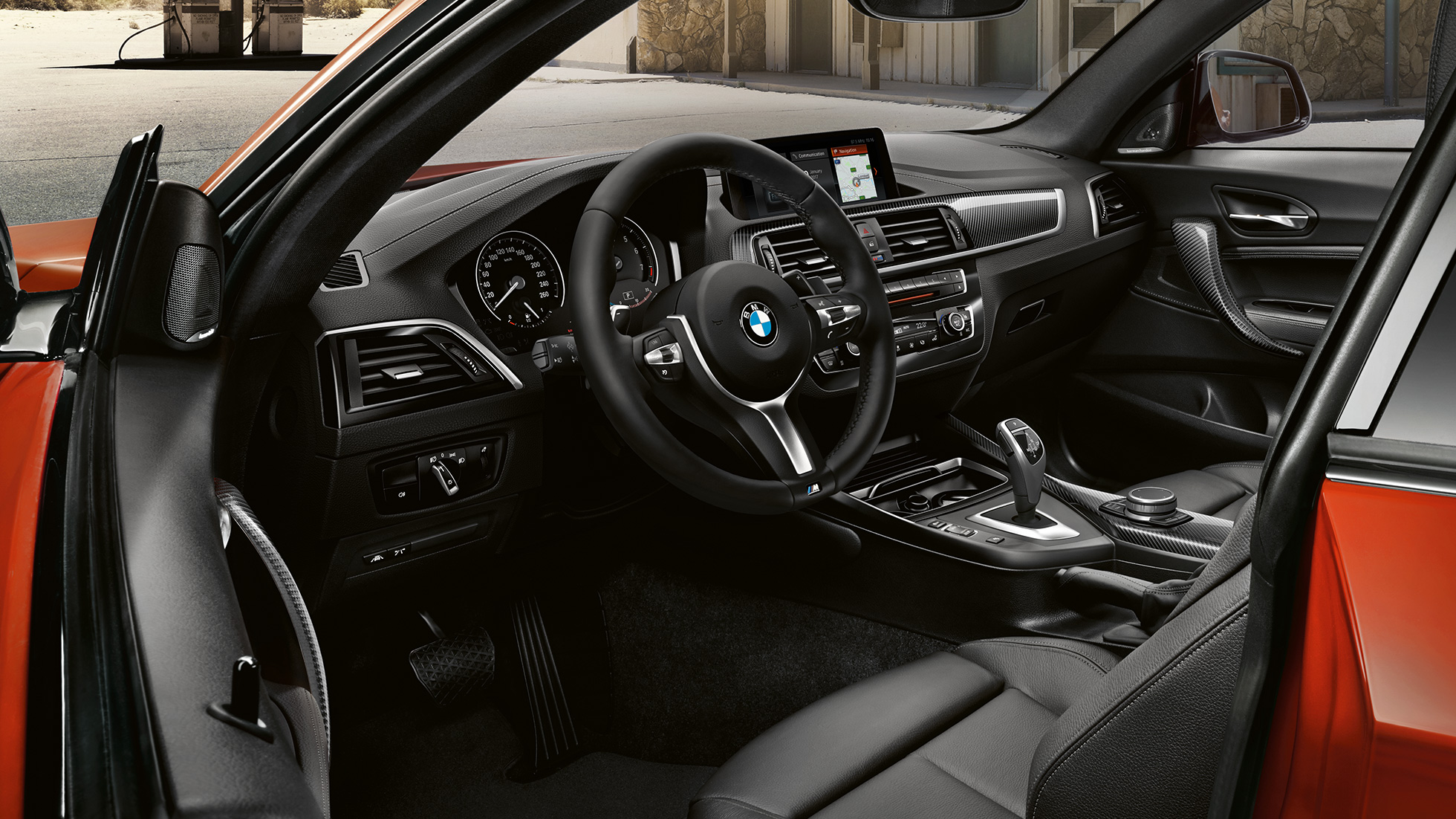 BMW 2er Coupé, Cockpit