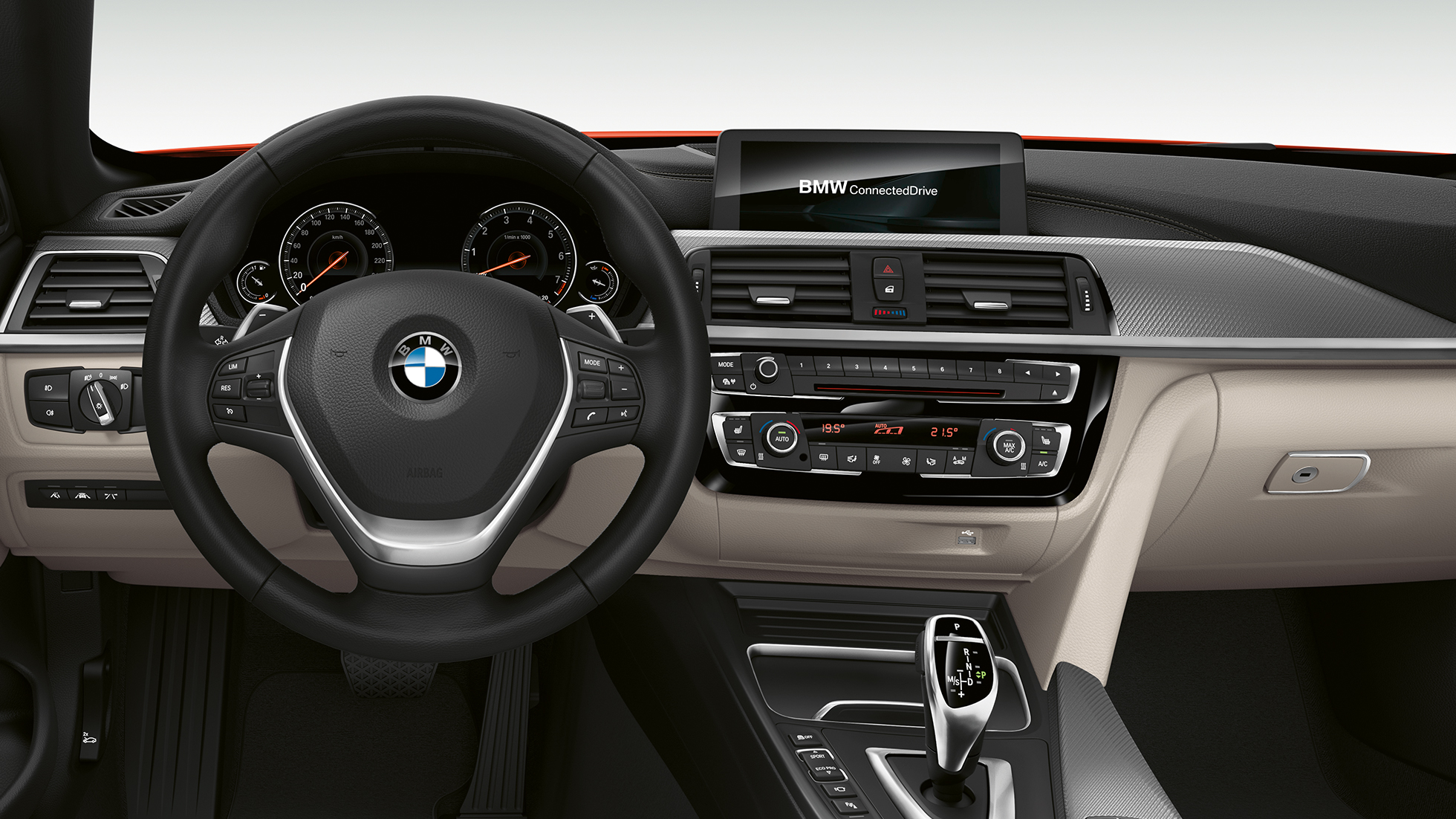 BMW 4er Cabrio, Modell Luxury Line Cockpit