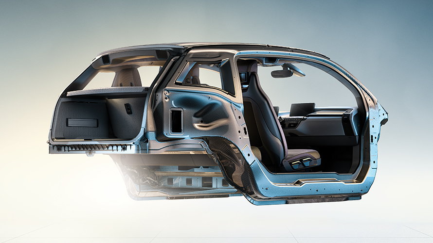BMW i3 - Chassis