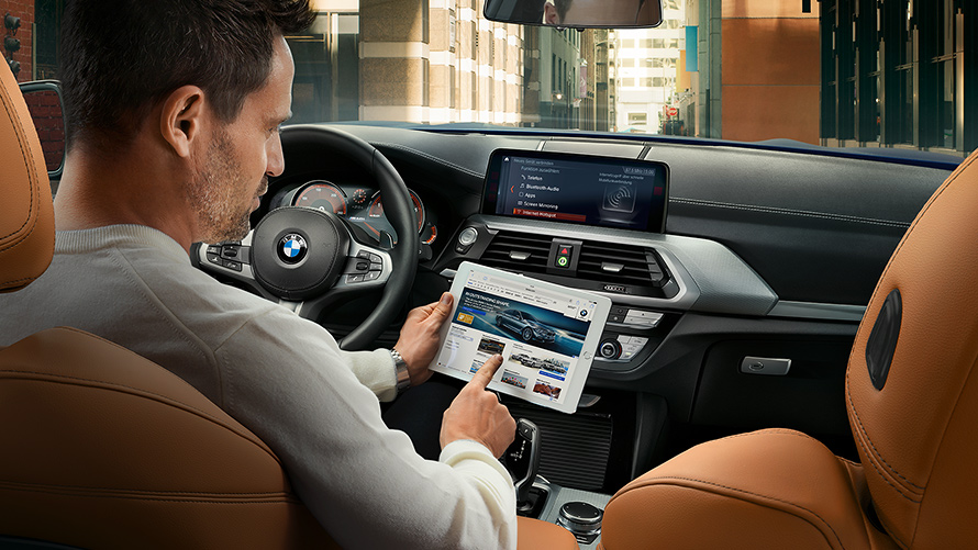 BMW Connected WLAN Hotspot