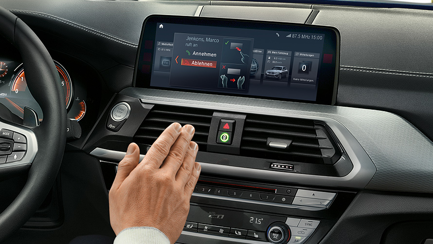 BMW Connected Display Technology