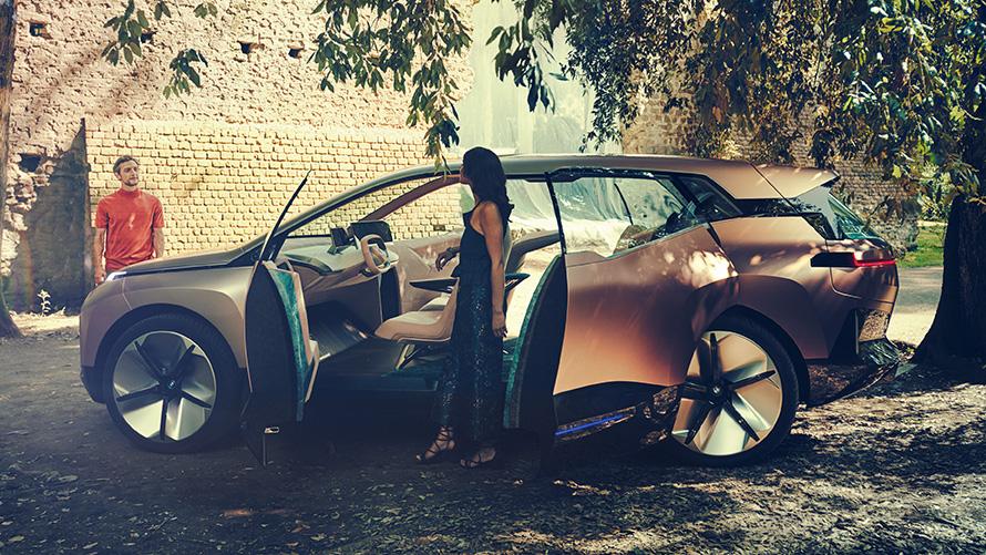bmw vision inext: das zukunftsauto von bmw i | bmw.at