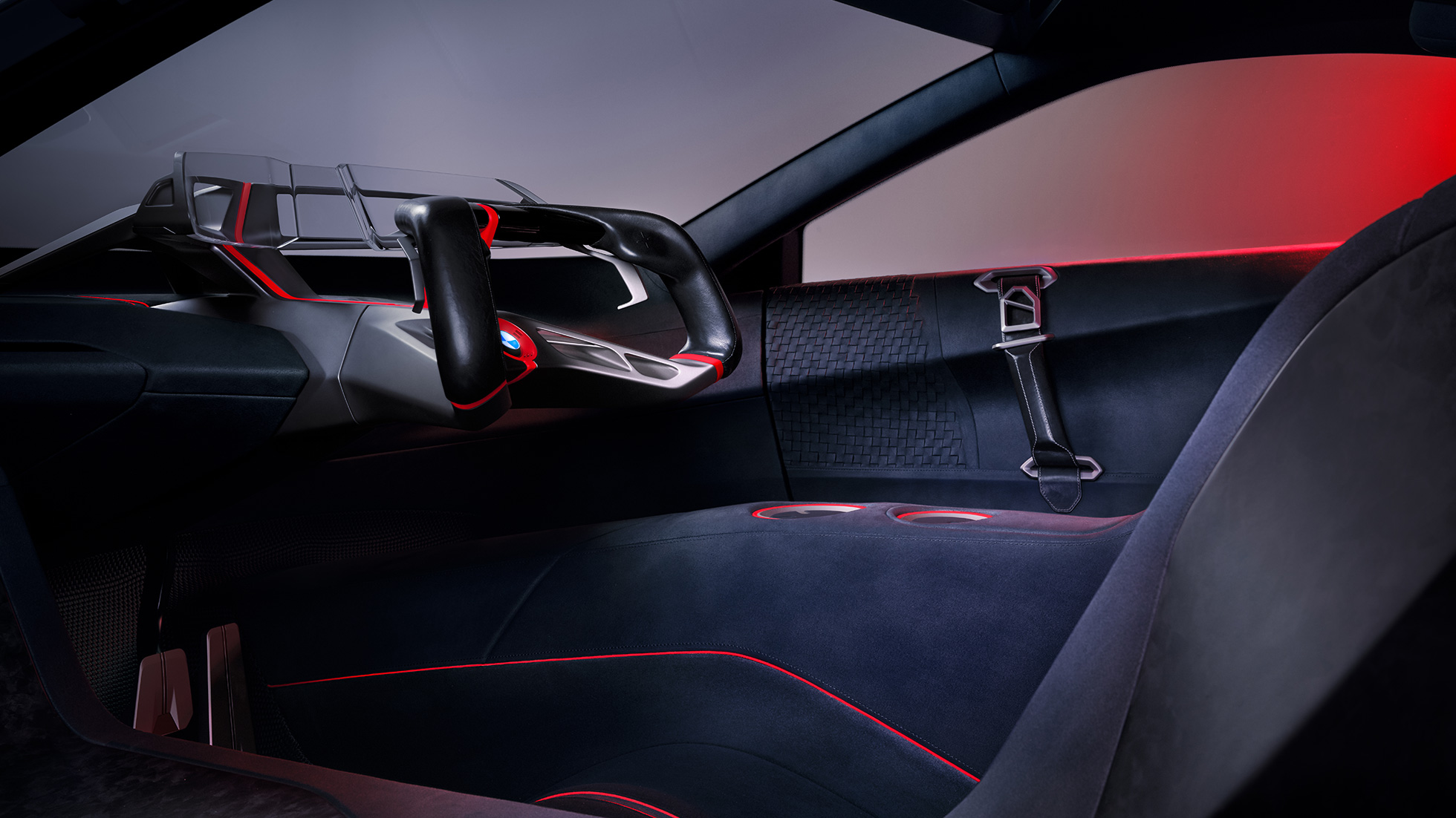 BMW Vision M NEXT, Interieur, Design, Sitzschale